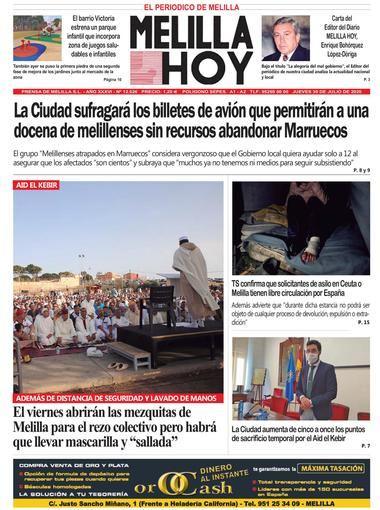 Melilla Hoy Portada