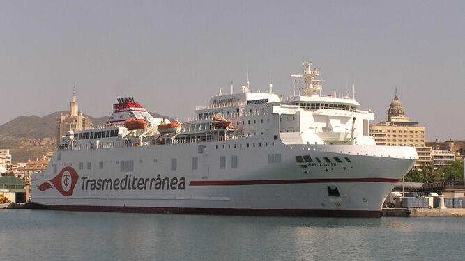 Melilla Malaga Barco