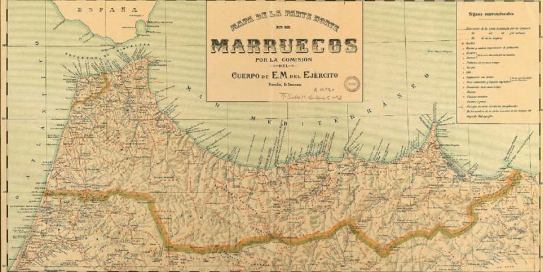 Melilla Mapa Africa