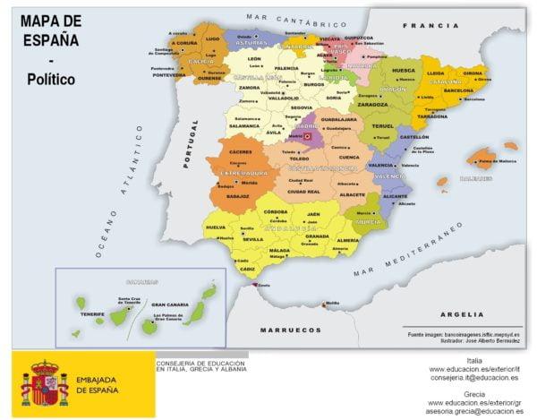 Melilla Mapa EspañA