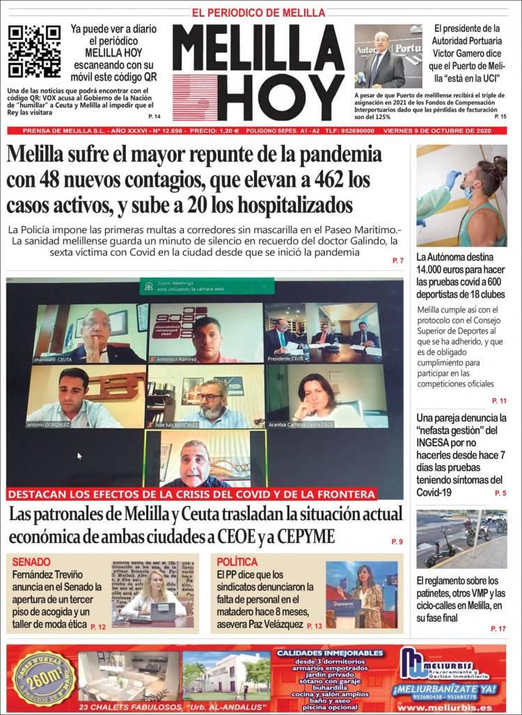 Melilla Noticias Hoy
