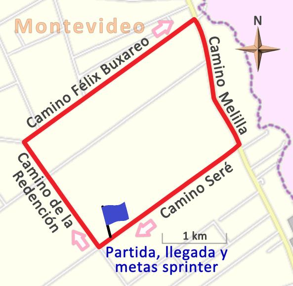 Melilla Uruguay Mapa