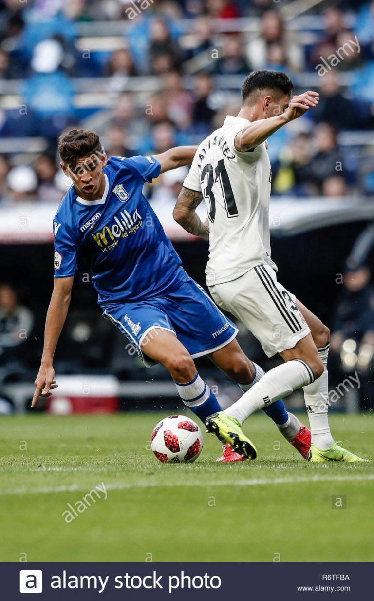 Melilla Vs Real Madrid
