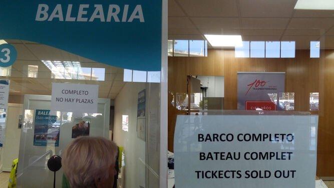 Motril Melilla Ferry Billetes