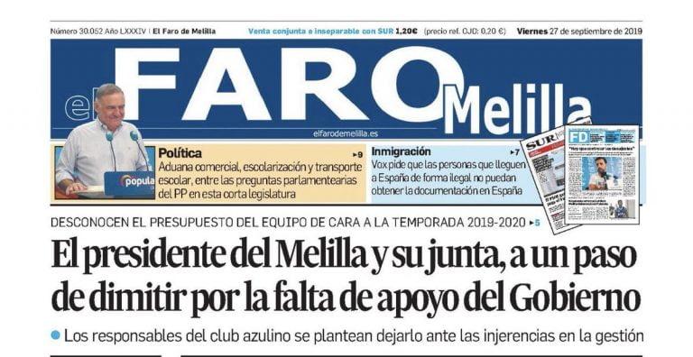 Noticias Melilla El Faro