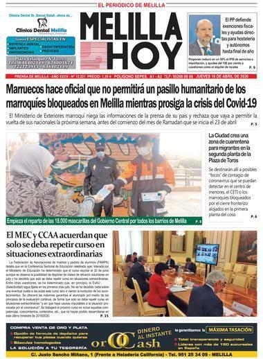 Periodico Melilla Hoy Melilla