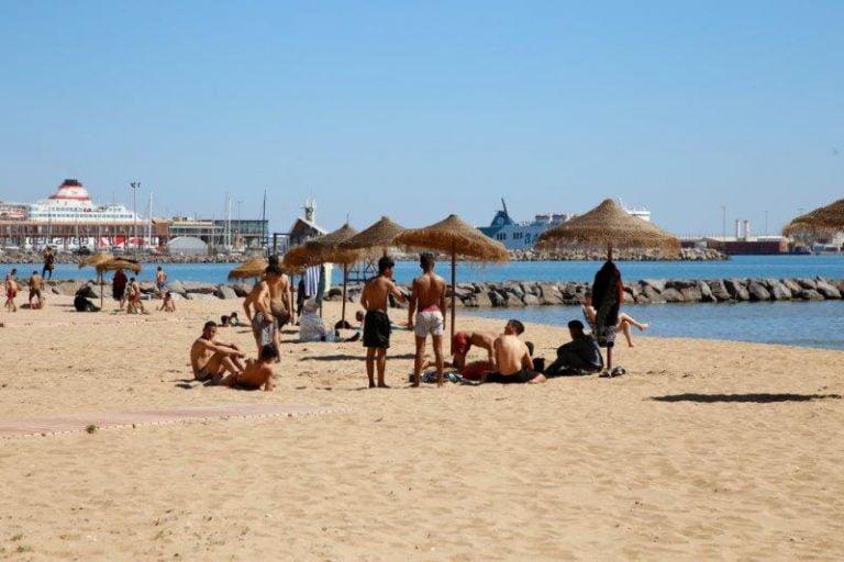 Playa De Los Carabos Melilla