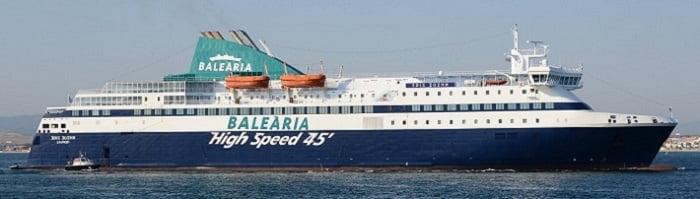 Precio Barco Malaga Melilla