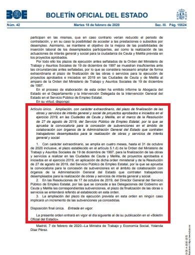 Proximos Planes De Empleo Melilla 2019
