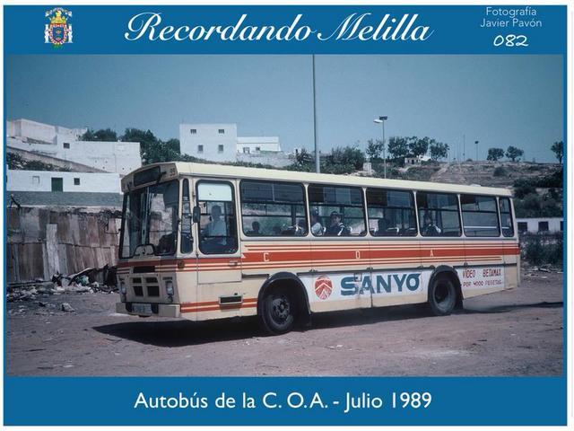 Publicidad Autobuses Melilla