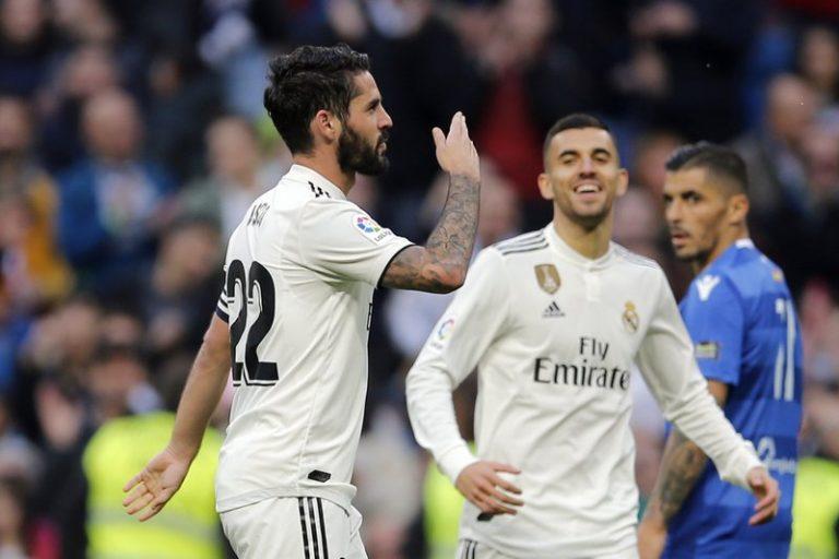 Real Madrid 6 Melilla 1