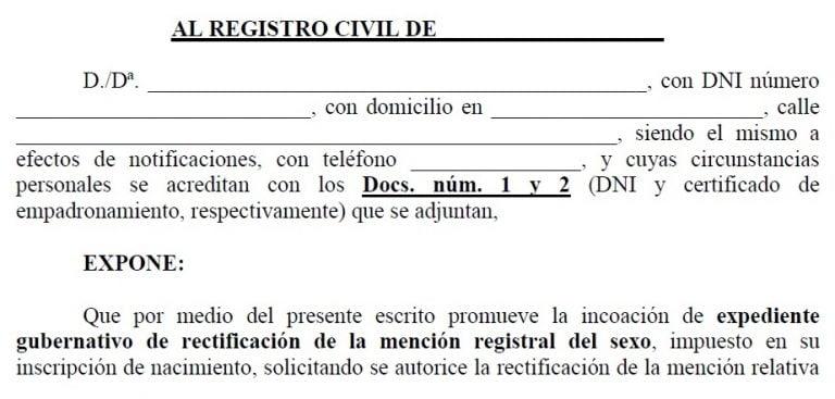 Registro Civil Melilla Telefono