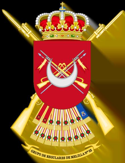 Regulares Melilla 52
