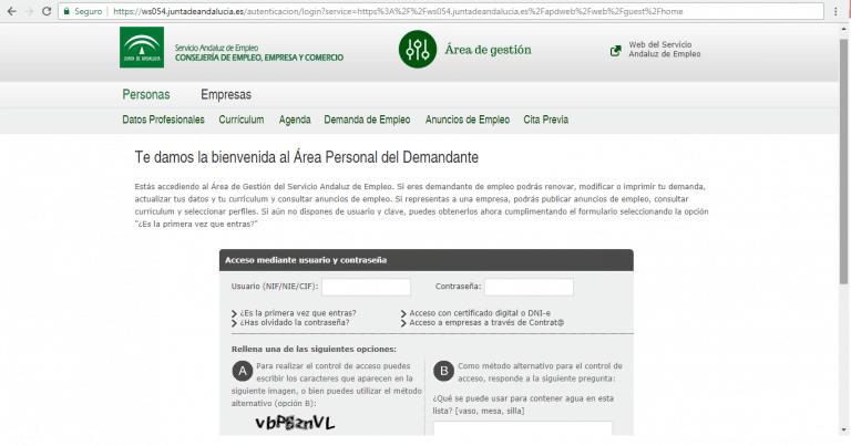 Renovar Demanda Por Internet Melilla