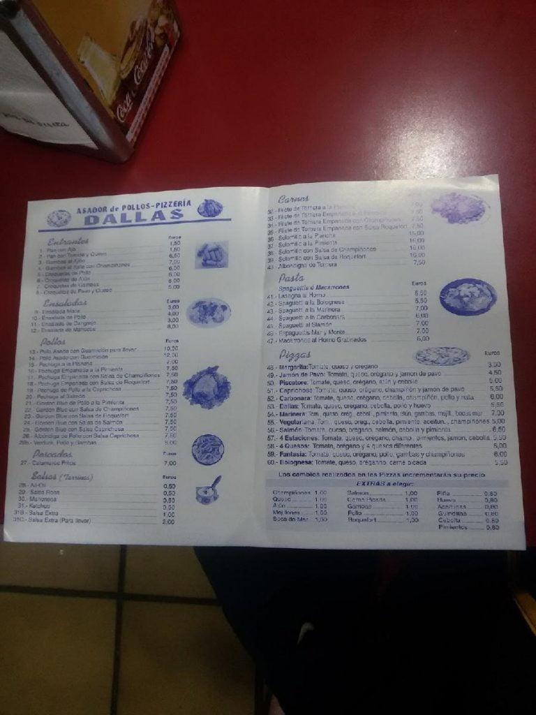 Restaurante Dallas Melilla