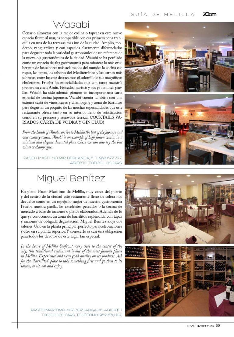 Restaurante Miguel Benitez Melilla