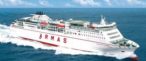 Salida Barco Almeria Melilla