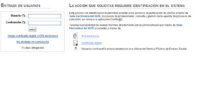 Sellar Demanda De Empleo Melilla