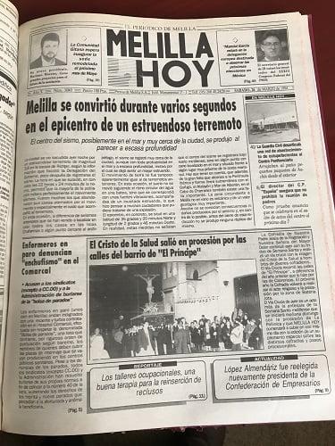 Terremoto Melilla Hoy 2019
