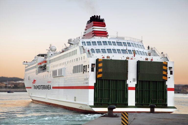 Trasmediterranea Ferry Malaga Melilla