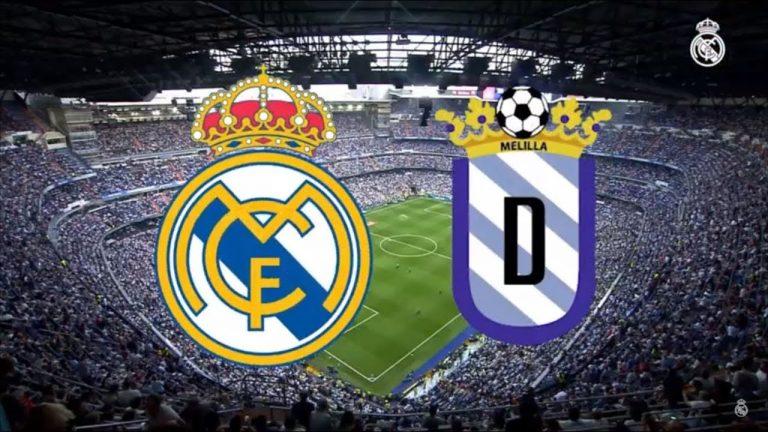 Ver Partido Real Madrid Melilla