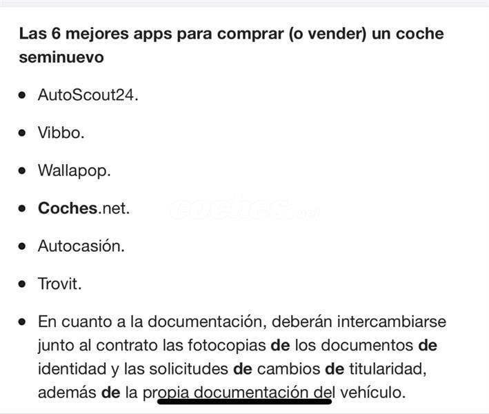 Vibbo Coches Melilla
