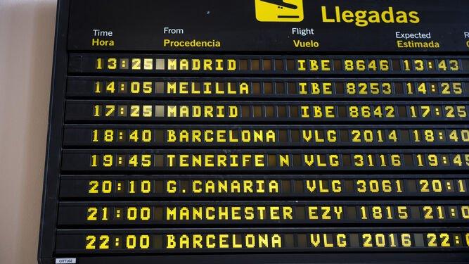 Vuelo Madrid Melilla