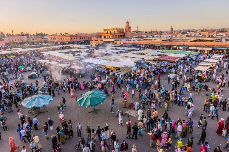 Vuelos Melilla Marrakech